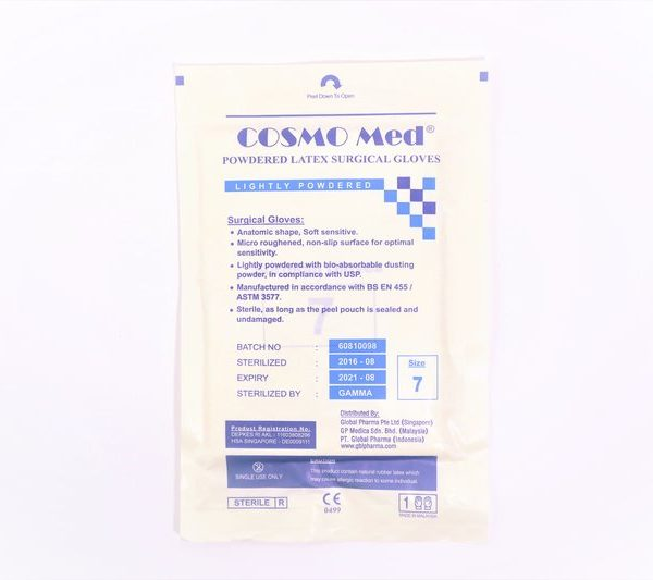 Latex Sterile Glove Size 7 (RC)